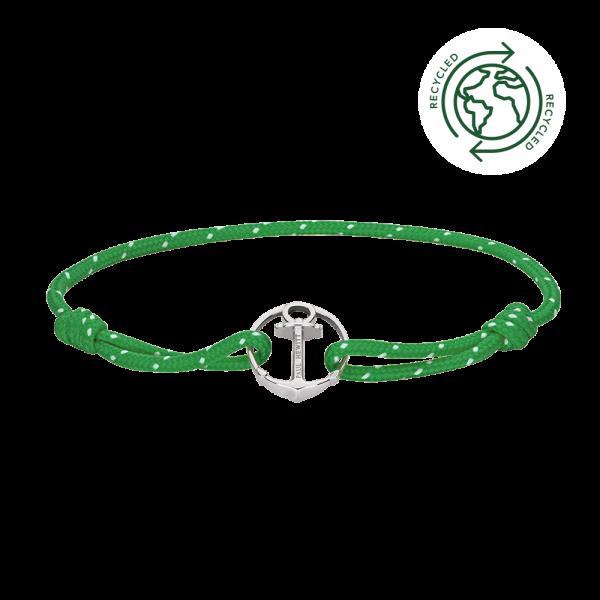Bracelet Re/Brace Argenté Vert