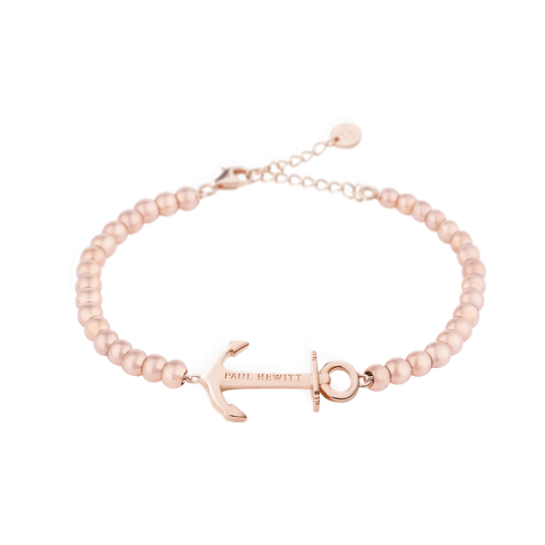 Bracelet Anchor Spirit Or Rose Steel