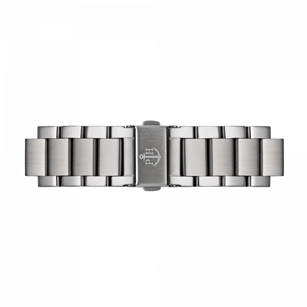 Watch Strap Metal Silver Metal 20 mm