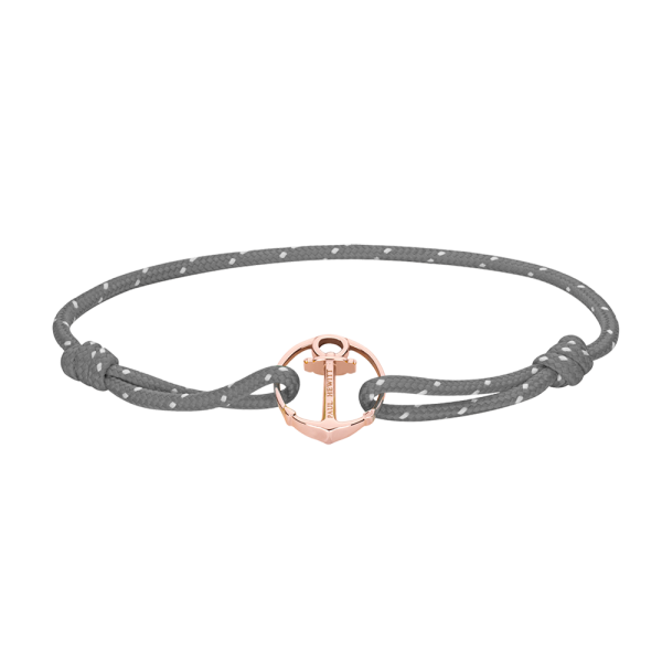 Bracelet Re/Brace Or Rose Gris