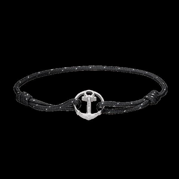 Bracelet Re/Brace Silver Black