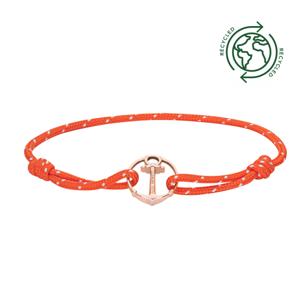 Bracelet Re/Brace Or Rose Orange