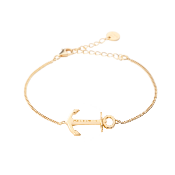 Bracelet Anchor Spirit Gold