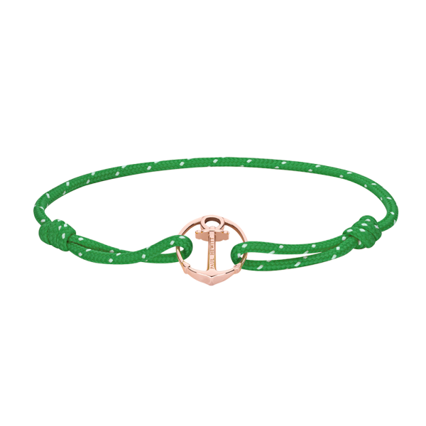 Bracelet Re/Brace Rose Gold Green