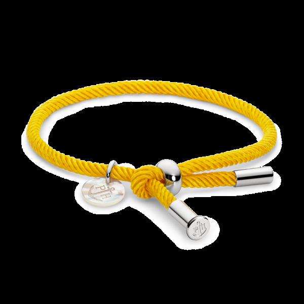 Bracelet Vitamin Sea Argenté Sun Yellow