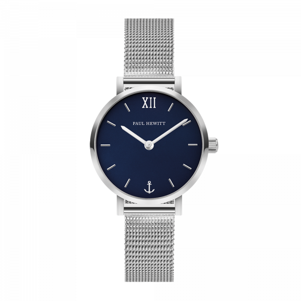 Watch Modest Blue Lagoon Silver Mesh