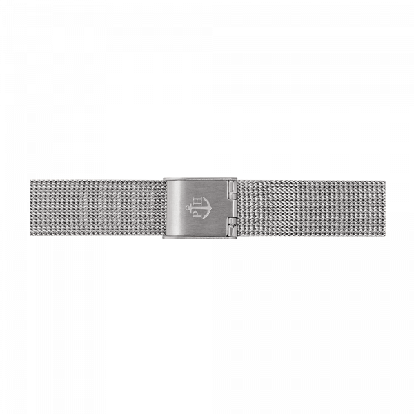 Watch Strap Mesh Silver 12 mm
