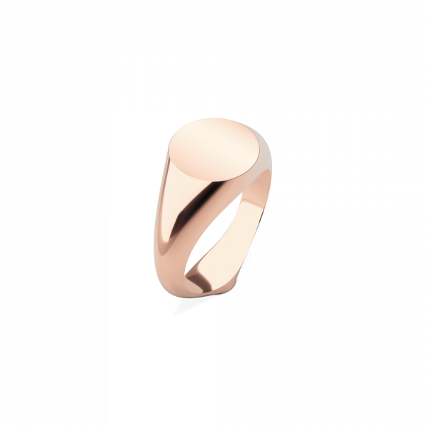 Ring Signet Rose Gold