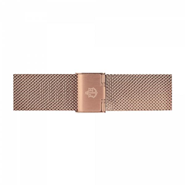 Watch Strap Mesh Rose Gold 20 mm