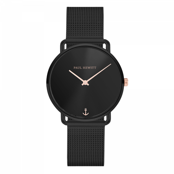 Watch Miss Ocean Black Sunray Black Mesh