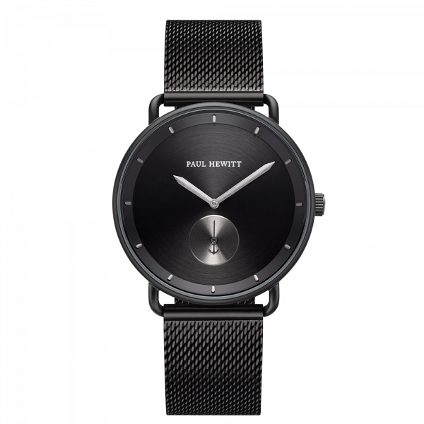 Watch Breakwater Black Sunray Black Gun Metal Mesh Black