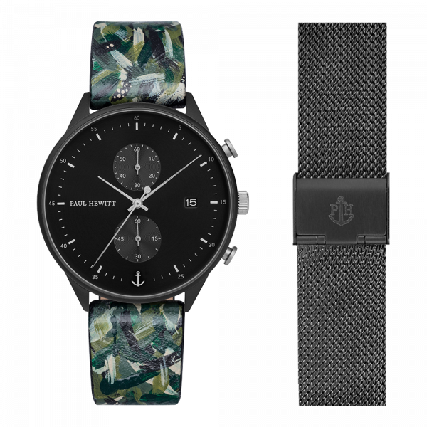 Set Perfect Match Born Originals Chrono and Camo Strap