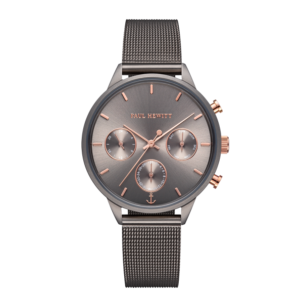 Reloj Everpulse Grey Metallic Mesh