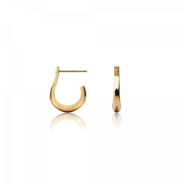 Earring Shackle Hoop Gold