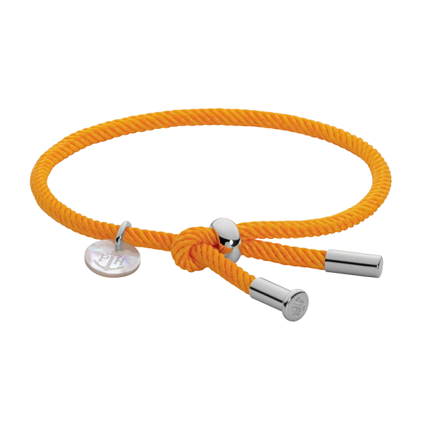 Armband Vitamin Sea Silber Orange