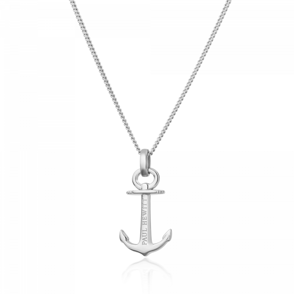 Collier Anchor Spirit Argenté