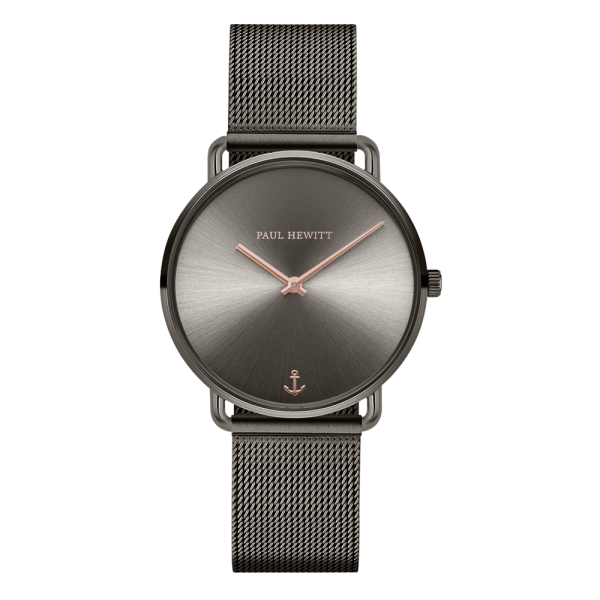 Uhr Miss Ocean Grey Metallic Mesh
